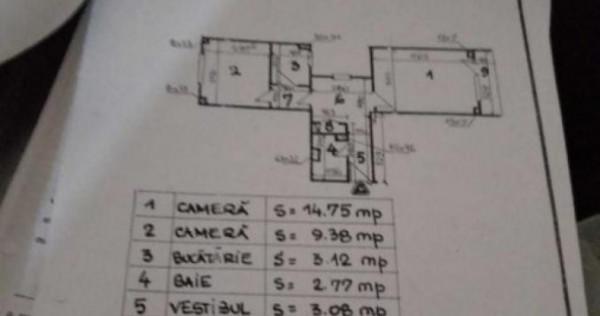 Apartament 2 camere zona Pantelimon, Delfinului