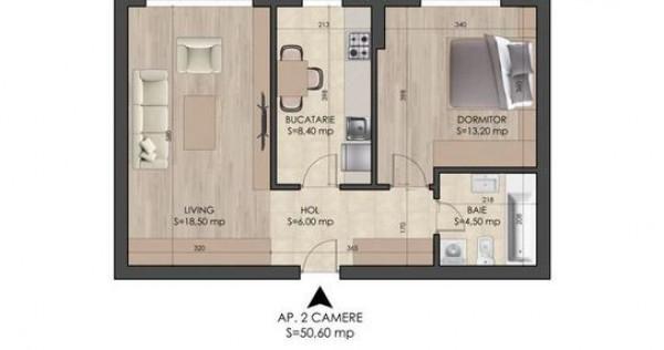 Apartament 2 camere Metrou Berceni Mutare Imediata
