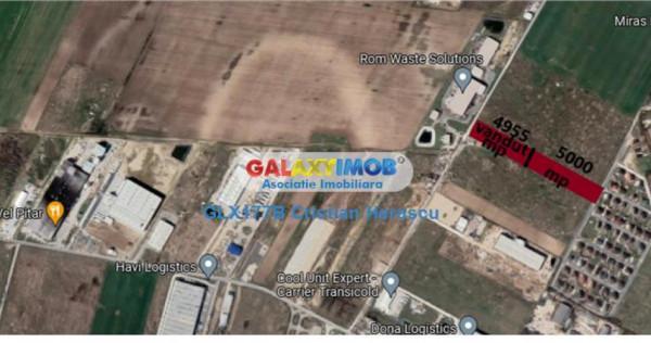 Teren intravilan industrial 5000 mp str Castanilor Chitila