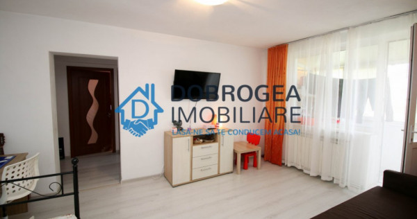 I.L. Caragiale, 2 camere, renovat, mobilat, centrala proprie