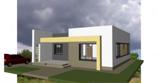 BASCOV   Casa individuala   teren 310 mp   Proiect NOU