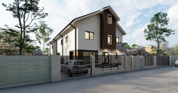 Casa Individuala P+1E+M Bragadiru-Cristalului
