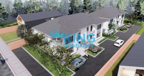 Comuna Berceni - Ilfov / Vila Tip Duplex 4 Camere P+1 / Tere