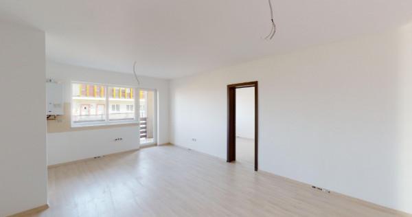 Apartament 2 camere tip studio + terasă, zonă liniștită