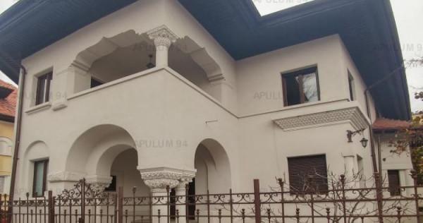 Vila interbelica cu 9 camere | Ultracentrala | Piata Romana-