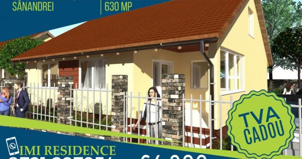 Casa parter Sanandrei 630 mp teren