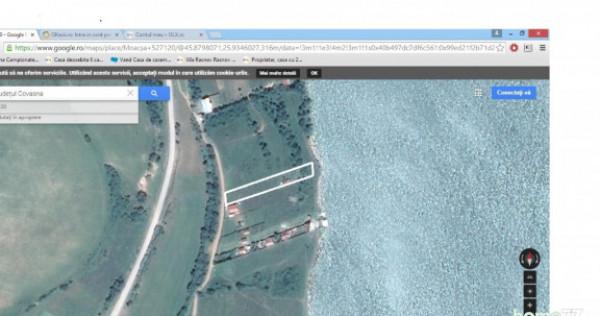 Teren intravilan la Moacsa-Covasna, pe malul lacului 1500 mp