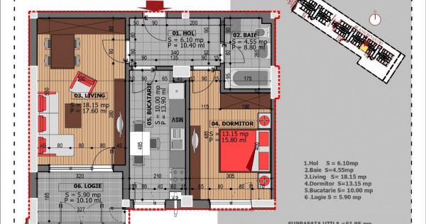 Apartament 2 camere , Bulevardul Metalurgiei