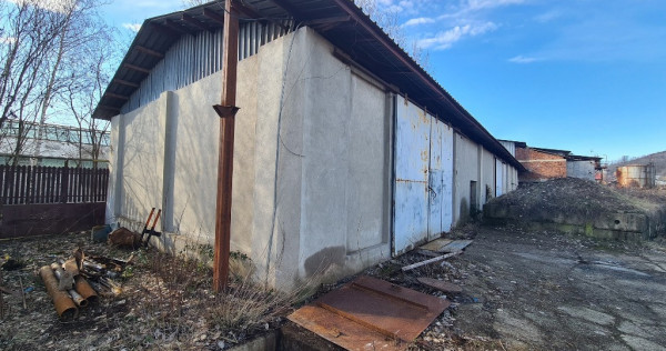Hala industriala in Campina, teren mare platforma betonata !