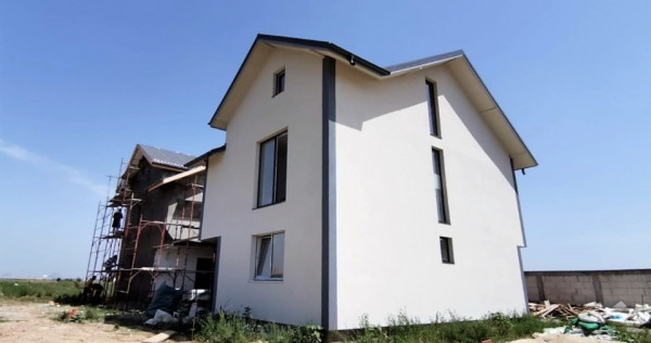 Vila P+1, Domnesti, str. Fortului, teren: 300 mp, comision 0