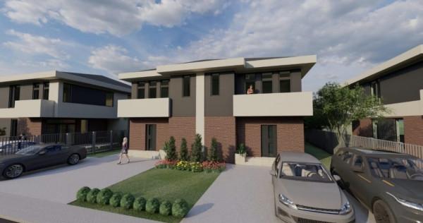 Berceni, vila noua 4 camere, 3 bai, terasa, gradina