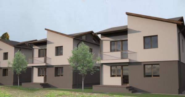 Casa individuala P+1+pod curte180 mp Popesti Leordeni