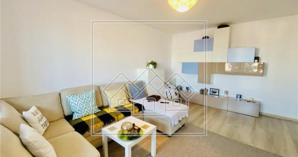 Ap. 2 camere - mobilat si utilat modern, et. intermediar | S