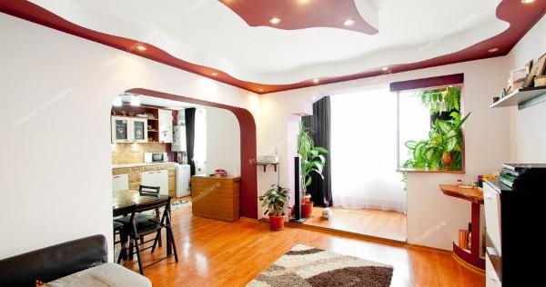 Apartament 3 cam Micro 20, mobilat, centrala termica