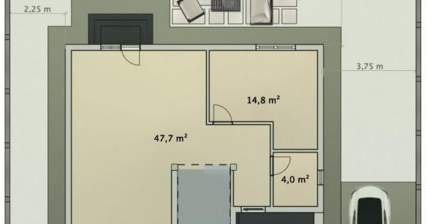 Vila individuala | 3 dormitoare | Teren 260 mp | Bragadiru